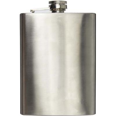 Image of Stainless steel hip flask (320 ml) with screw cap