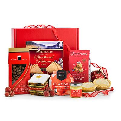 Image of Promotional Christmas Box Hamper