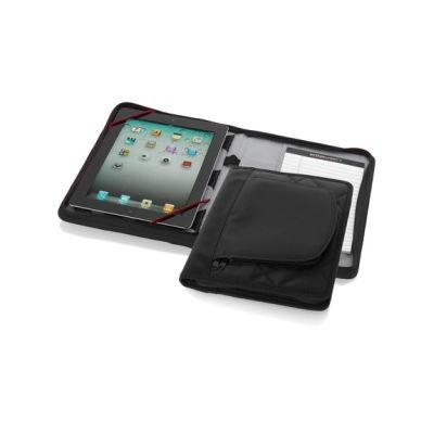 Image of iPad case with A5 notebook
