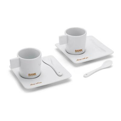 Image of Porcelain Espresso Set 2 Pcs