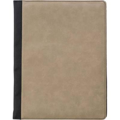 Image of A4 Pad Printed folio with PU cover